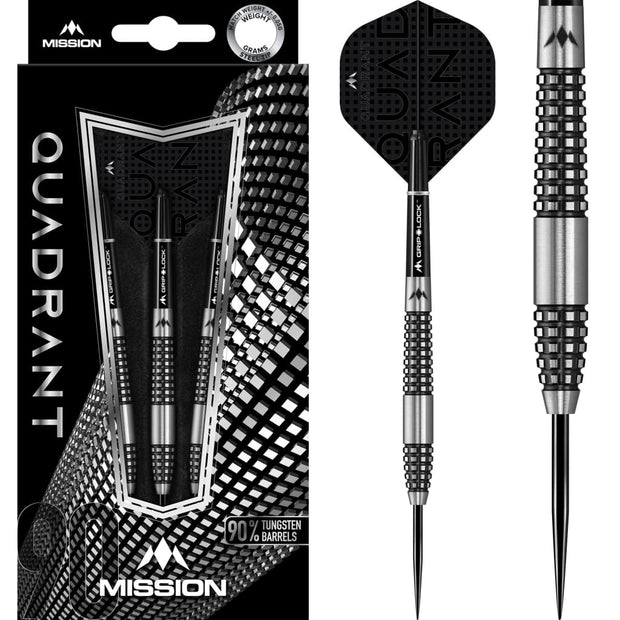Quadrant Darts M2 Mission Darts 24g and 26g