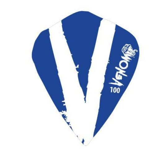 Venom Darts Viper Kites White/Blue | Venom Darts | AS Pub Sports