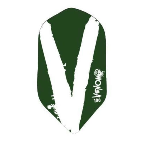 Venom Darts Viper Slim White/Green | Venom Darts | AS Pub Sports