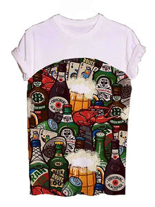 Beer World Graphic Tees