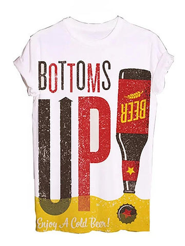 Unisex Bottom Up Graphic Tees