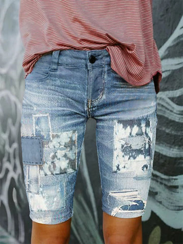 Holiday Denim Pants
