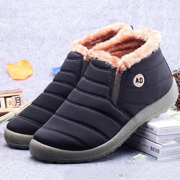 Waterproof Slip-On Causal Snow Booties