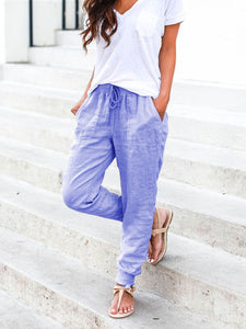 Women Casual Solid Pants