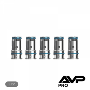 Aspire -  AVP Pro Replacement coils - 5 PACK