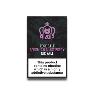 Rock Salt - Bohemian Blast Berry 10ml