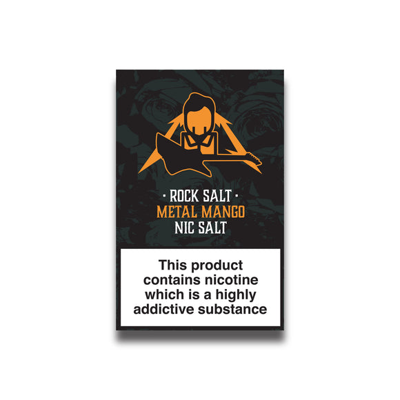 Rock Salt - Metal Mango 10ml