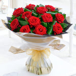 Fabulous Red Roses Bouquet