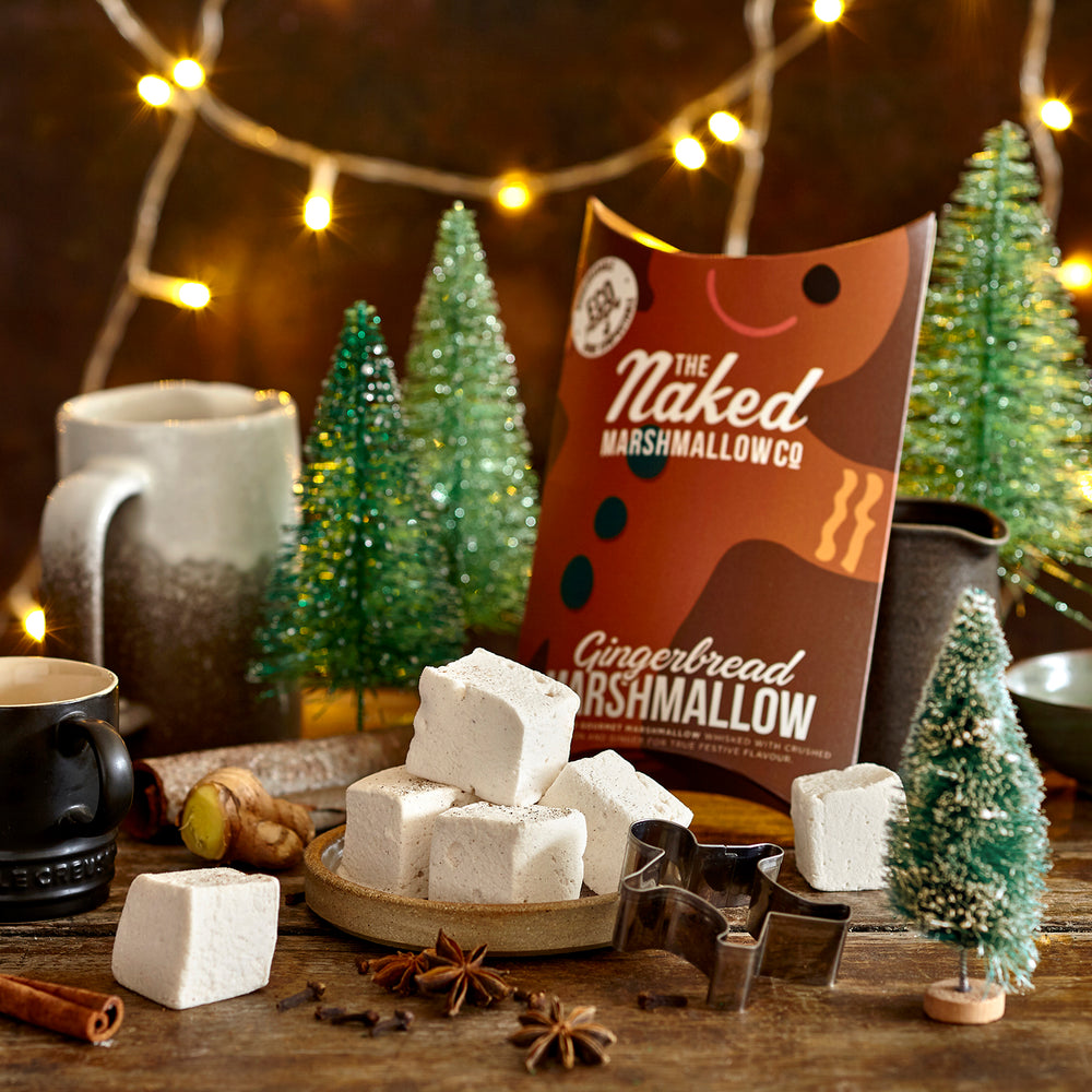 Gingerbread Gourmet Marshmallows