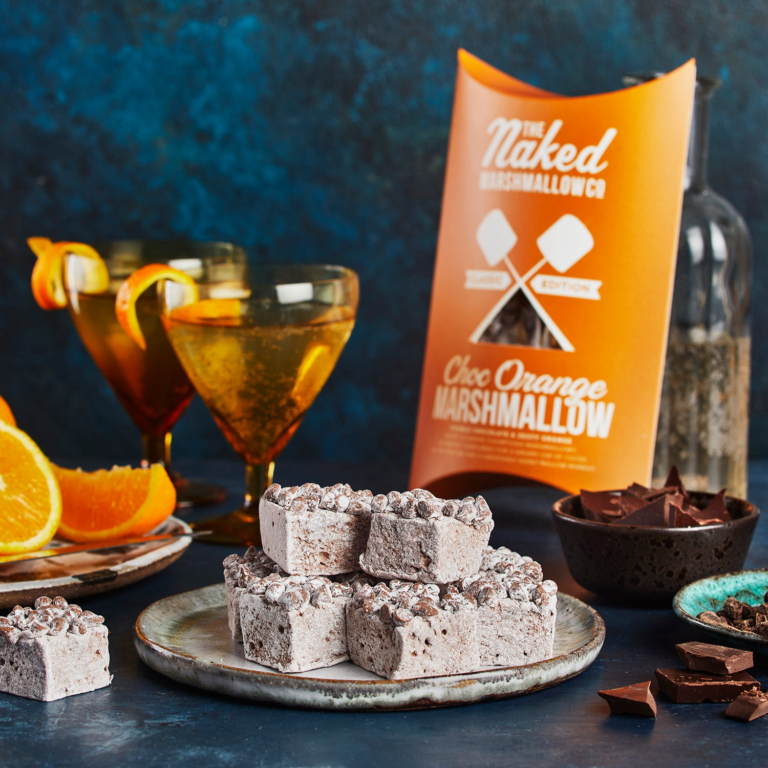 Choc Orange Gourmet Marshmallows
