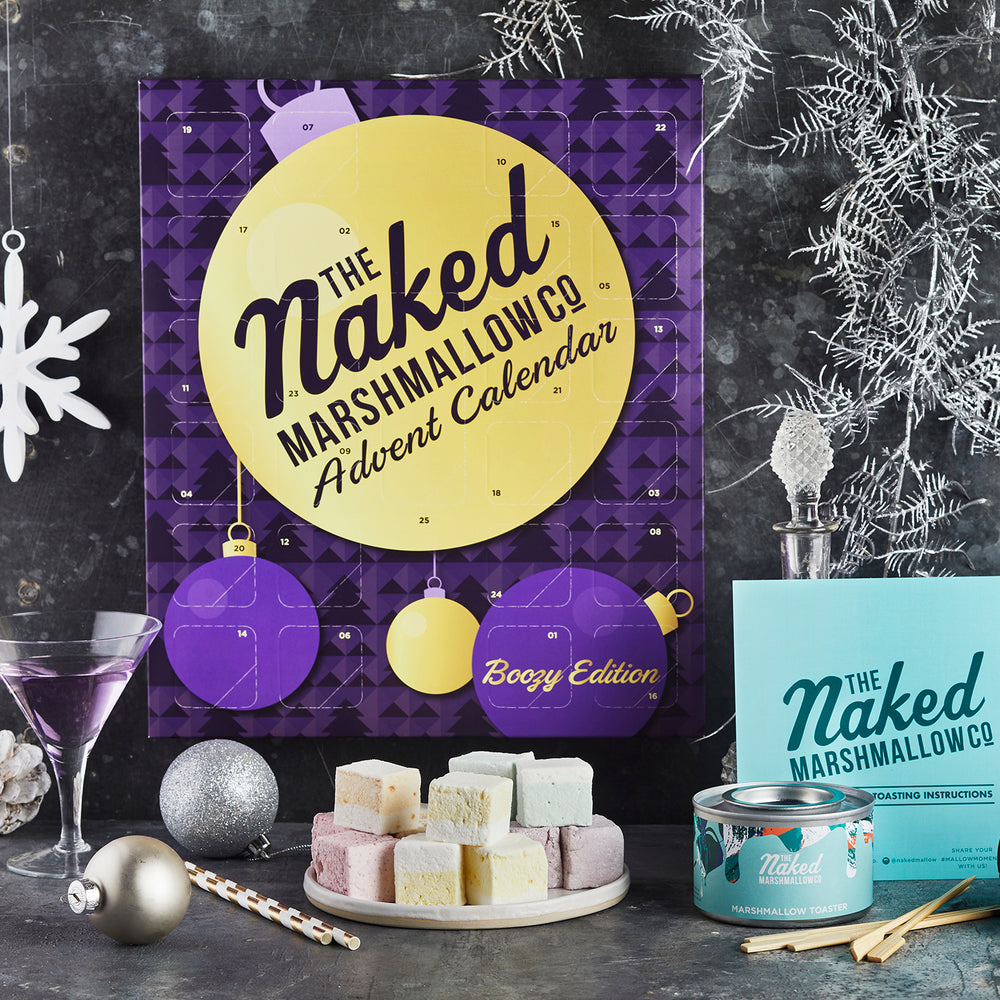 Boozy Gourmet Marshmallow Advent Calendar (18+)