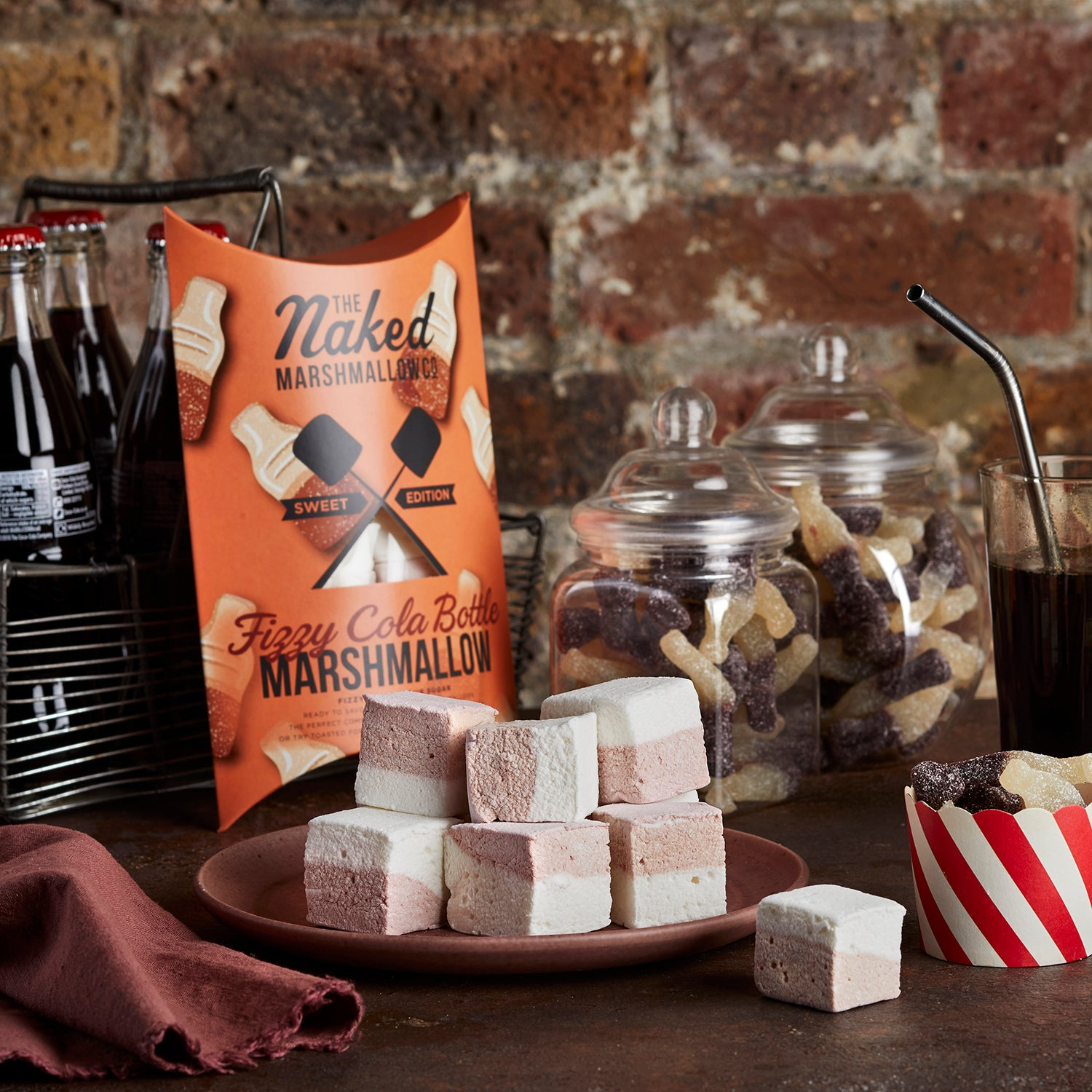 Fizzy Cola Bottle Gourmet Marshmallows
