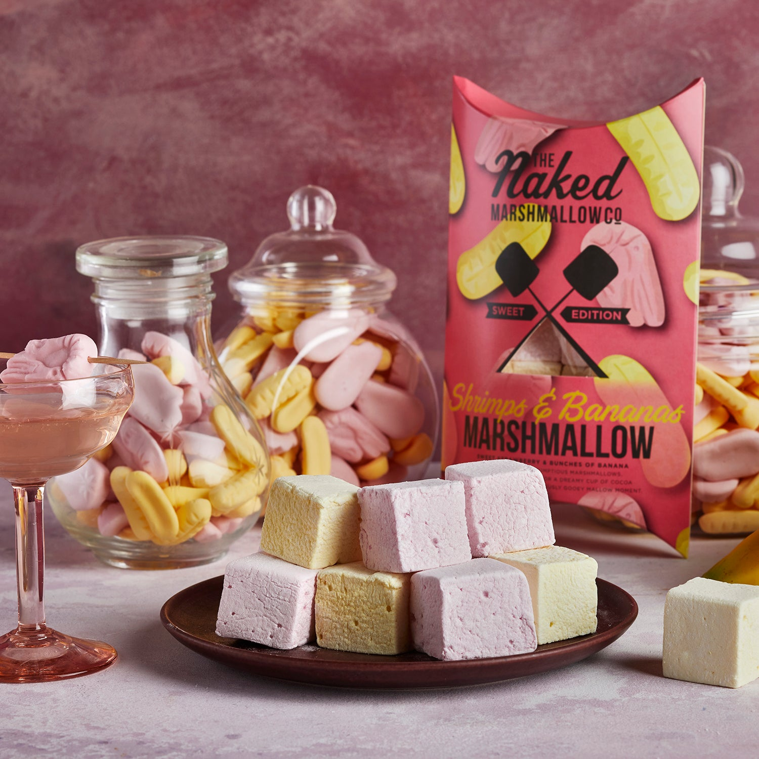 Shrimps & Bananas Gourmet Marshmallows