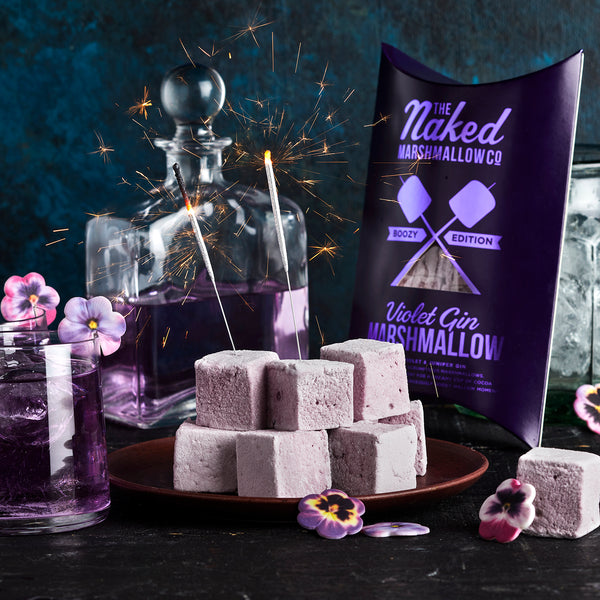 Violet Gin Gourmet Marshmallows