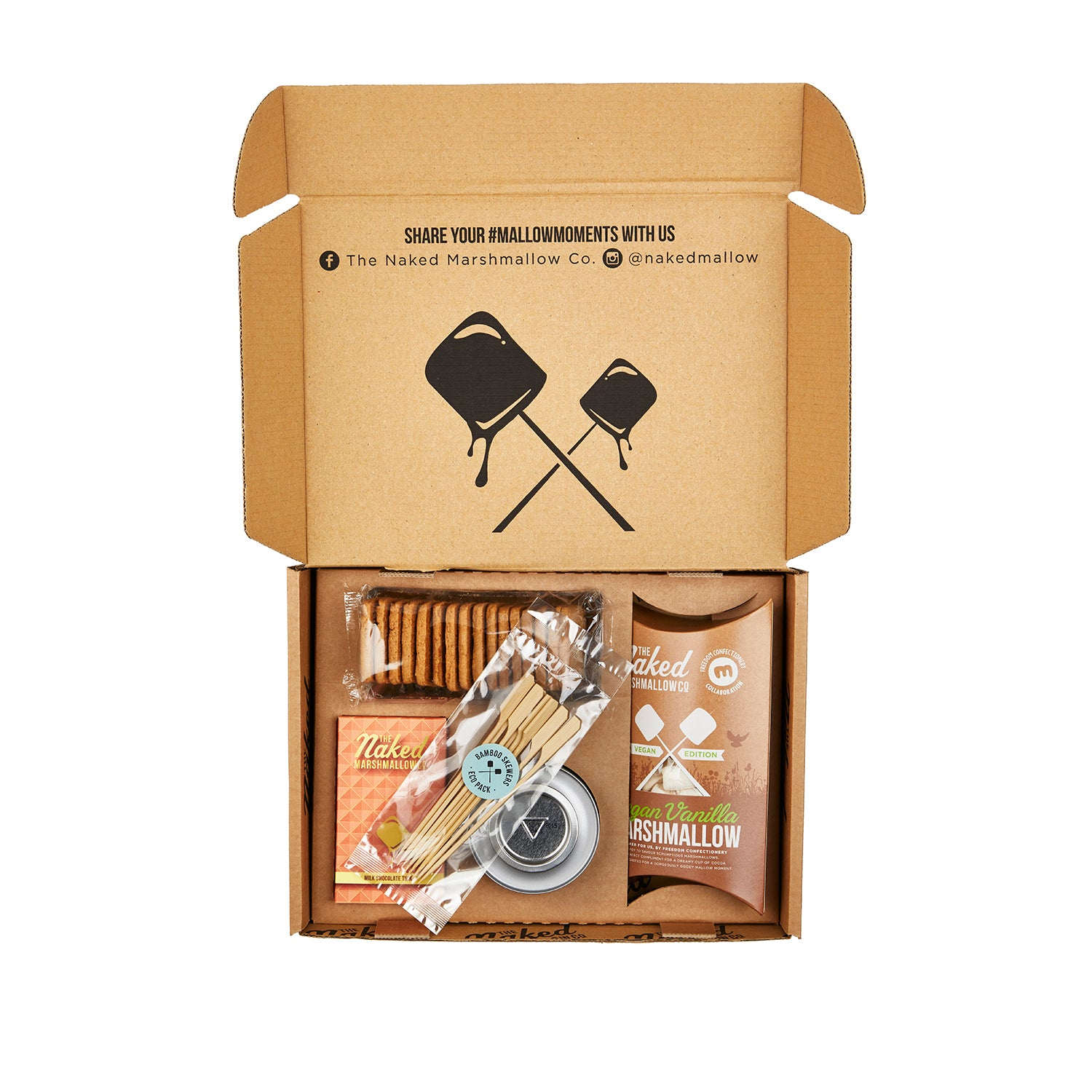 Vegetarian Edition Marshmallow S'mores Gift Set