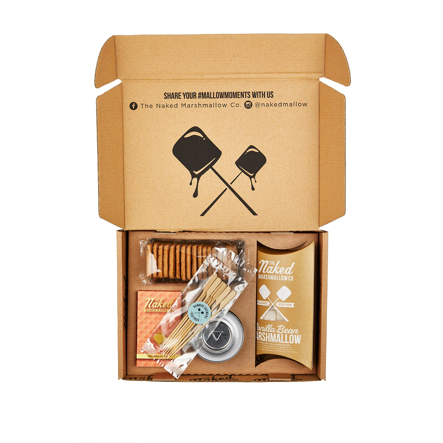 Classic Edition Gourmet Marshmallow S'mores Gift Set