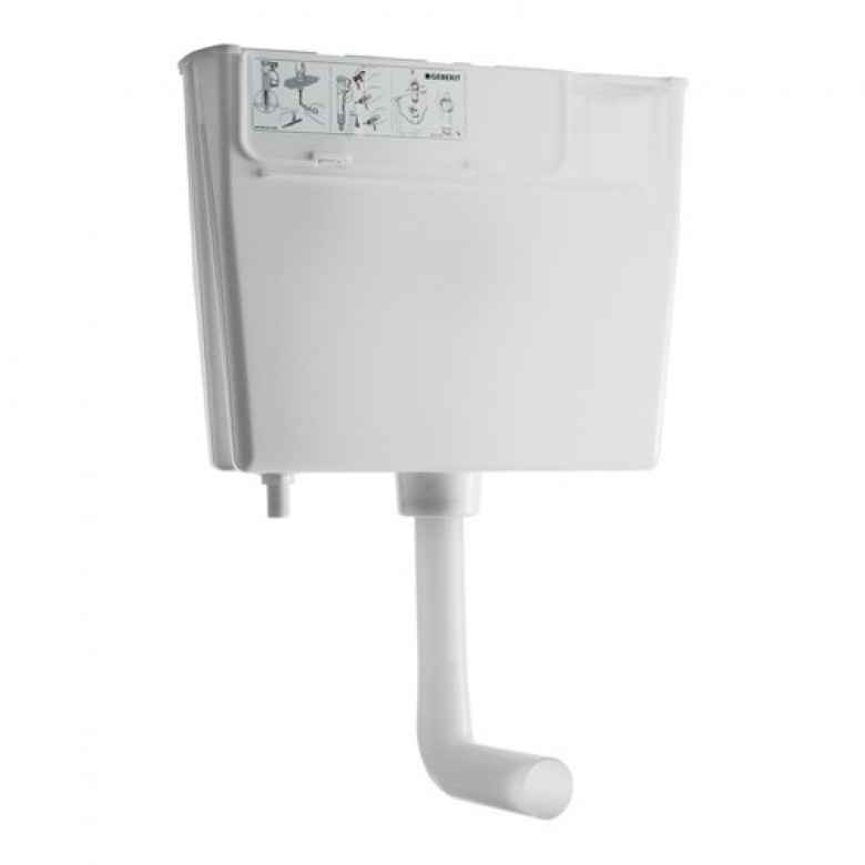 Geberit Concealed Cistern for Low Height Furniture with Pneumatic Dual Flush Button