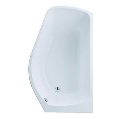 Eastbrook Profile Showerbath With Front Panel - 1500 x 900mm