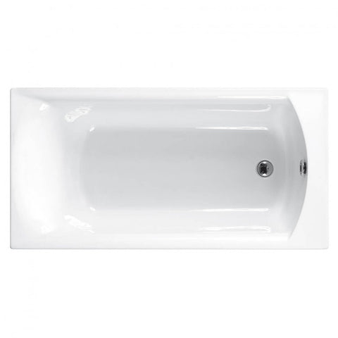 Eastbrook Delta Single Ended Bath - 1400 x 700mm
