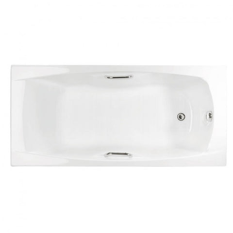 Eastbrook Imperial Carronite Bath with Twin Grips - 1400 x 700mm