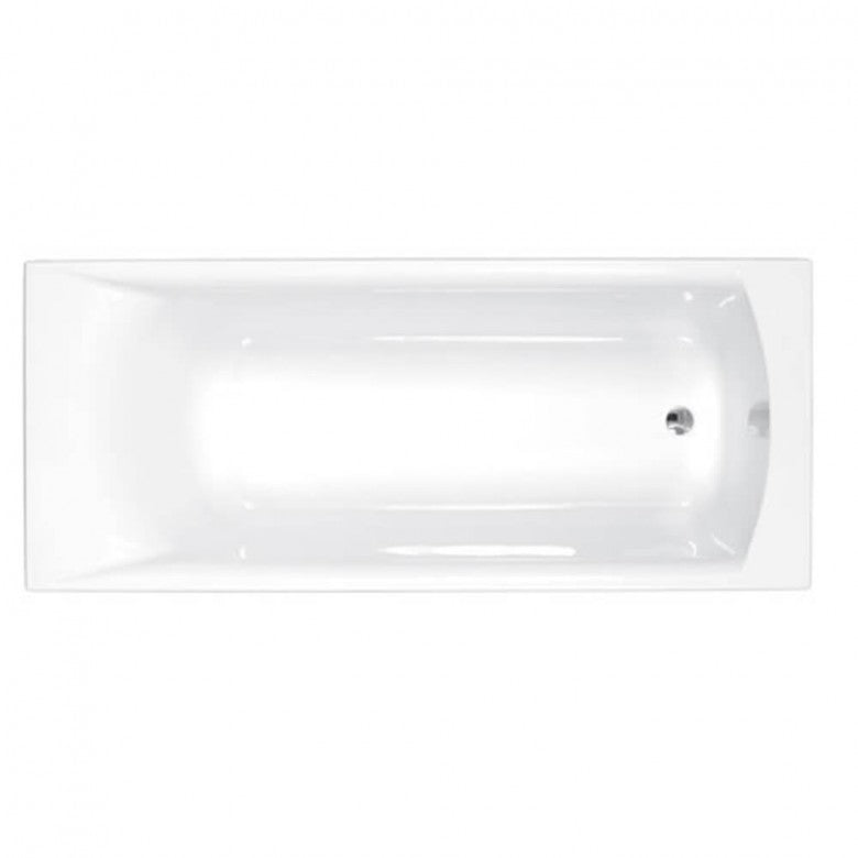 Eastbrook Sigma Carronite Single Ended Bath - 1900 x 900mm