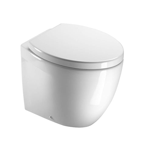 SANEUX POPPY WALL HUNG TOILET & SEAT - 550 MM PROJECTION