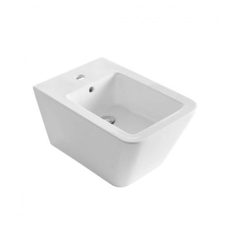 Saneux Icon Square Wall Hung Bidet