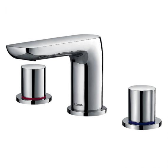 Flova Allore 3 Hole Basin Mixer Inc Waste