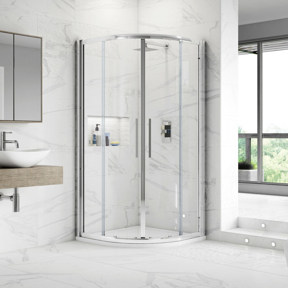 Hudson Reed Apex Quadrant Shower Enclosure - Various Size Options