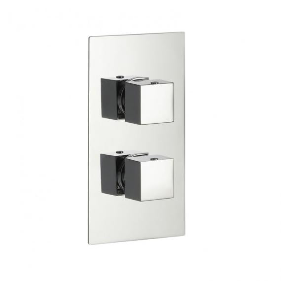 Pura Bloque2 Single Outlet Concealed Thermostatic Shower Valve