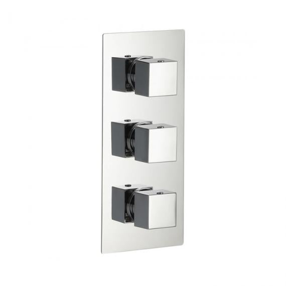 Pura Bloque2 Dual Outlet Thermostatic Concealed Shower Valve