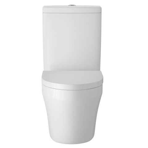 Hudson Reed Luna Semi Flush to Wall Toilet + Soft Close Seat