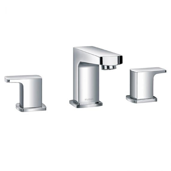Flova Dekka 3 Tap Hole Basin Mixer Including Waste
