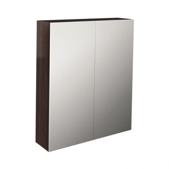 Pura Echo 600mm Wenge Double Door Mirror Cabinet