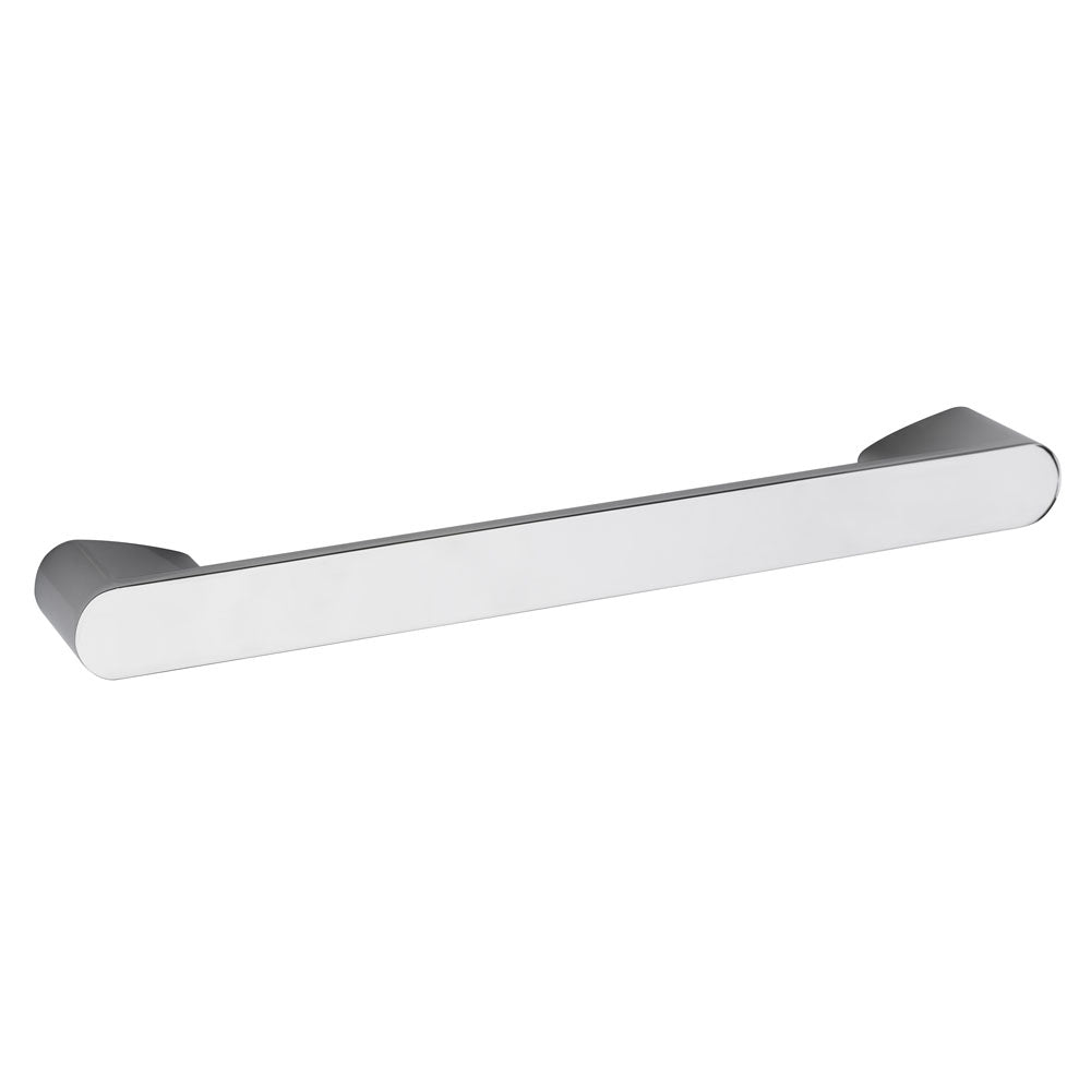Hudson Reed Rounded Chrome Furniture Handle (215 x 30mm) - H401