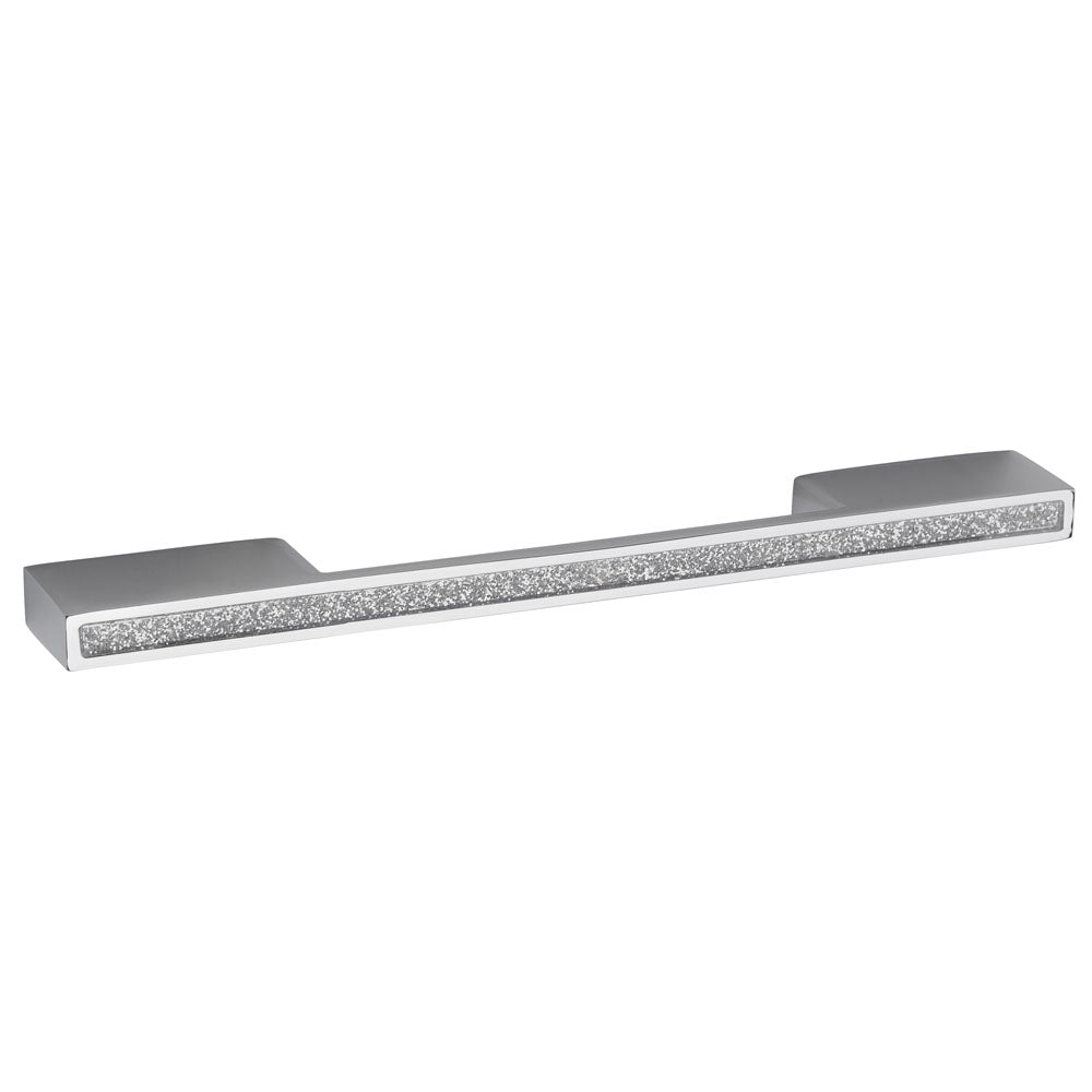 Hudson Reed Sparkle Chrome Furniture Handle (200 x 25mm) - H824