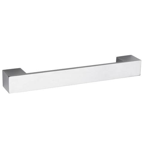Hudson Reed Rectangular Chrome Furniture Handle (205 x 29mm) - H947
