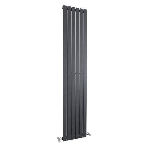 Hudson Reed Sloane Single Panel Designer Radiator 1800 x 354mm - Anthracite - HLA72