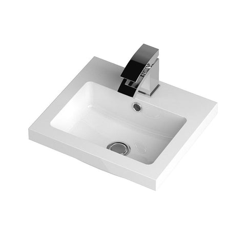 Hudson Reed 400 x 355mm Full Depth Polymarble Basin 1TH