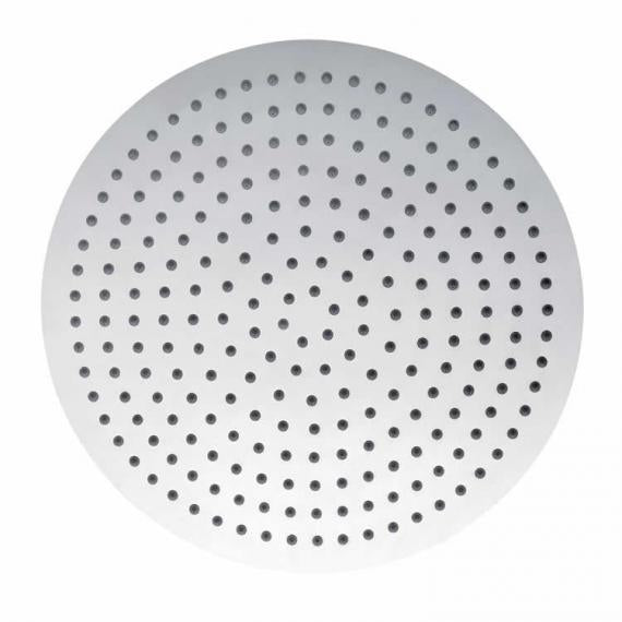 Pura Slimline Polished 350mm Round Shower Head