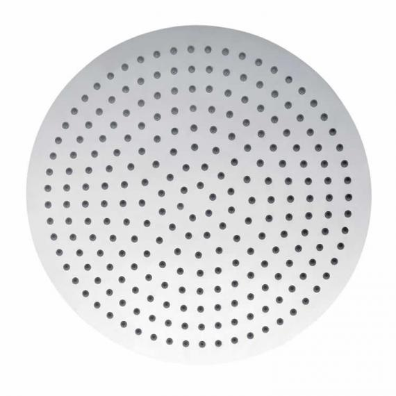 Pura Slimline Polished 250mm Round Shower Head