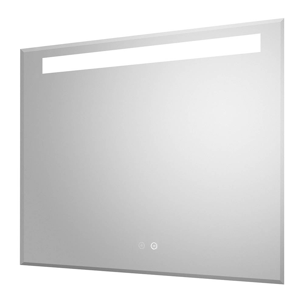 Hudson Reed Vizor 800mm LED Touch Sensor Mirror with Demister Pad - LQ087