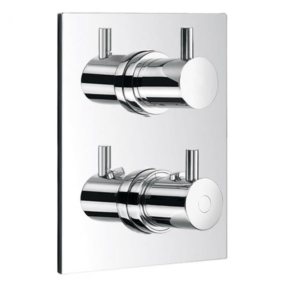 Flova Levo Thermostatic Shower Valve 2 Way Diverter