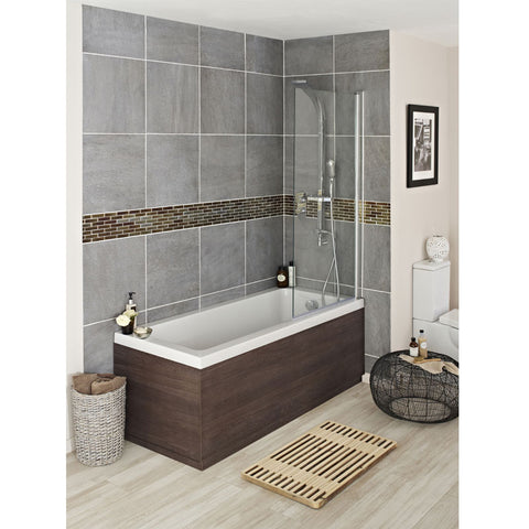 Hudson Reed Mid Sawn Oak End Bath Panel - Various Size Options