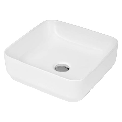 Hudson Reed Square Countertop Vessel Basin - NBV163