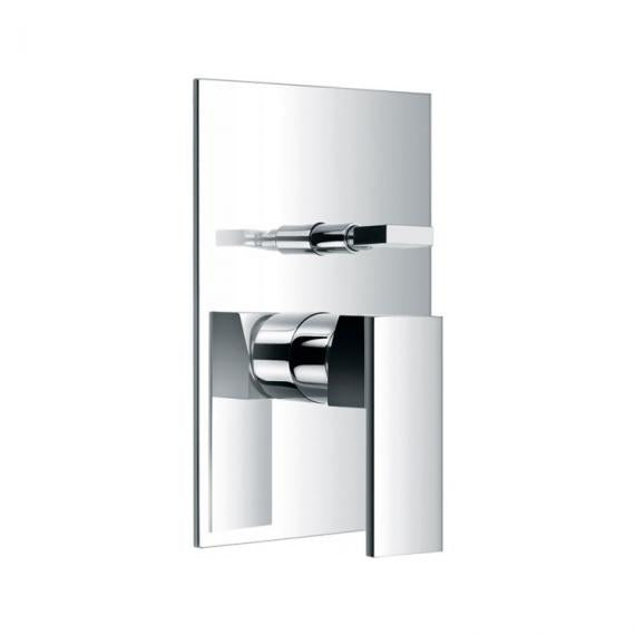 Pura Bloque Concealed Manual Shower Valve with Diverter