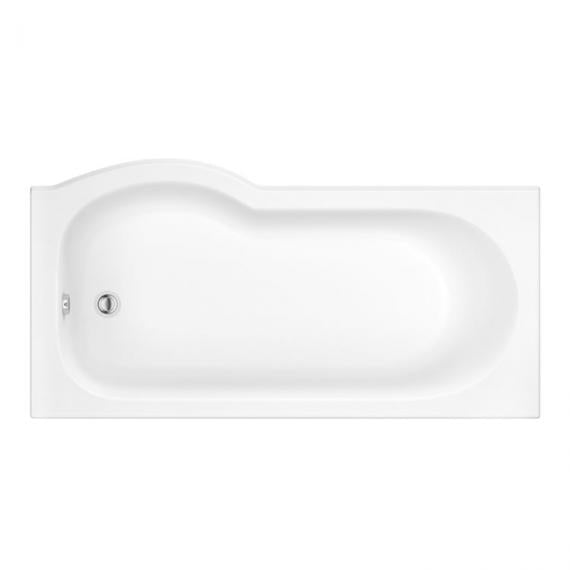 Pura Curve 1500mm Right Hand Shower Bath
