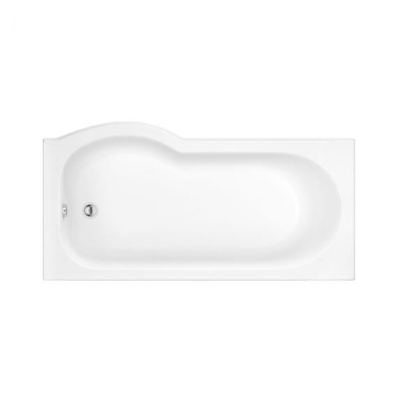 Pura Curve 1675mm Right Hand Shower Bath