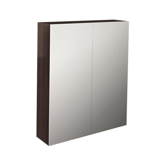 Pura Echo 800mm Wenge Double Door Mirror Cabinet