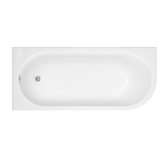 Pura Flite 1700mm Left Handed Single Ended Bath